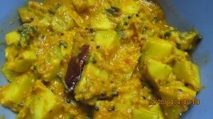 Avacado curry