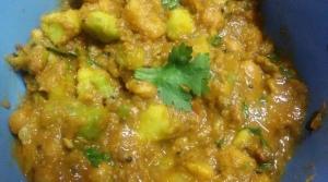 Avocado  aalu butter beans