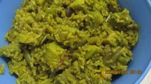 Avocado Biriyani 1