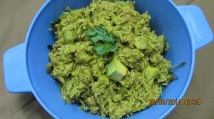 Avocado Biriyani