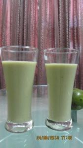 Avocado milk shake