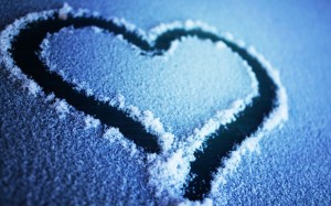 Snow-Love-Wallpaper
